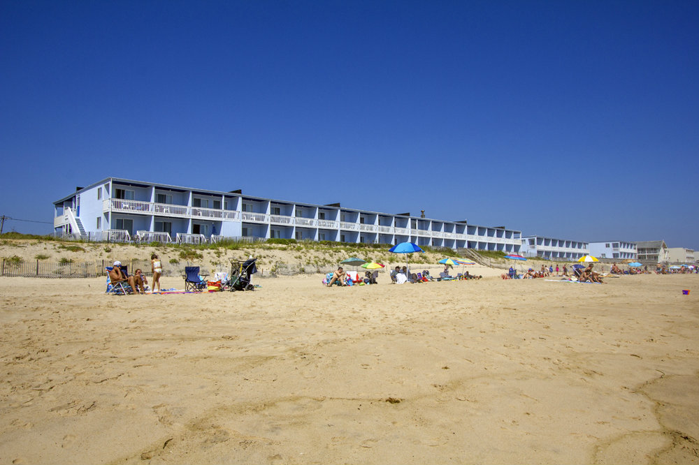 Beach near our Oceanfront Montauk Hotel
