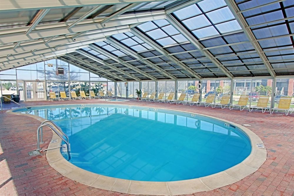 Indoor pool at our Oceanfront Montauk Hotel